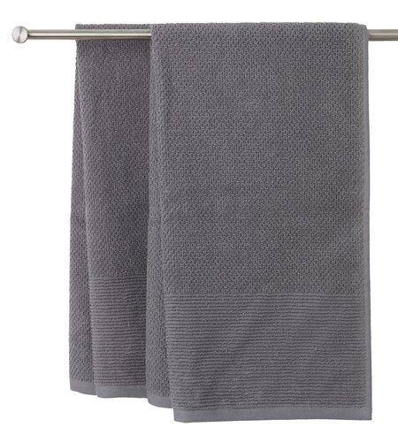 Asciugamano GISTAD 50x90 grigio