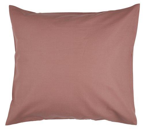 Funda almohada 2x45x85 rosa empolvado