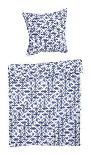 Bettwäsche blau STAR Mikro 140x200