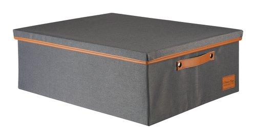 Aufbewahrungsbox LARA 44x56x20cm d.grau