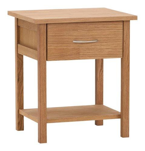 Nachttisch OLSKER 1 Schublade Eiche
