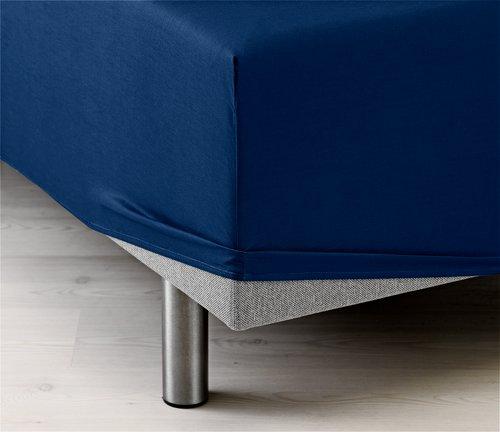 Fasonglaken 150x200x35 blå KRONBORG