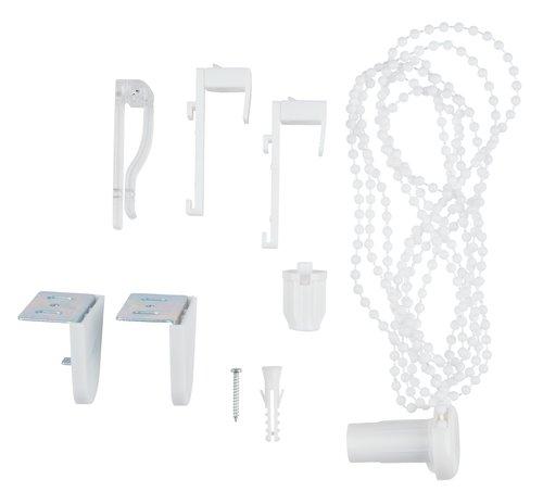 Sistema corda p/estore enrolável branco