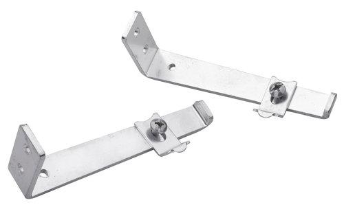 Vægbeslag 2stk/pk 10cm sølv