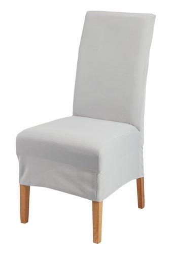 Funda silla TOM 40x45x85 gris claro