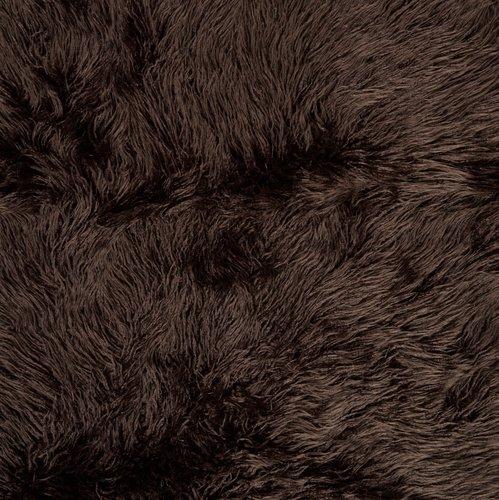 Tapis STORMHATT fau. fourr. 140x200 brun