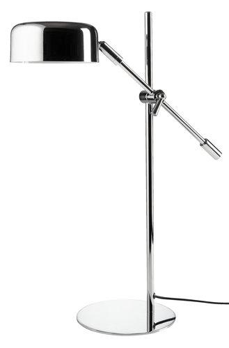 Stolová lampa ISAK Š16xD42xV49cm chróm