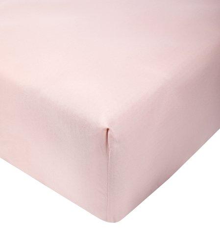 Lençol cetim 260x300cm rosa KRONBORG