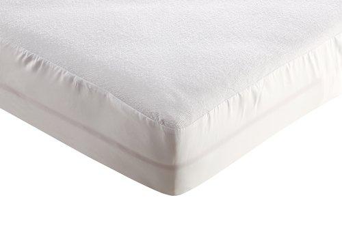 Lenzuolo impermeabile 90x200cm bianco