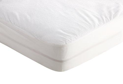 Lenzuolo impermeabile 80x200x20cm bianco