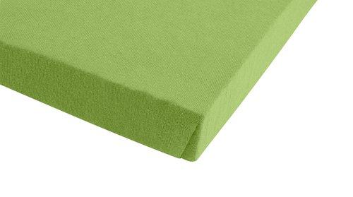 Jersey-Spannleintuch 150x200x30 grün