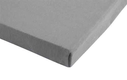 Lenzuolo Jersey 100x200x28cm grigio ch.
