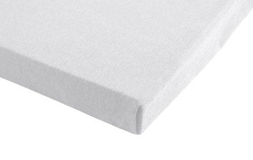 Jersey lenzuolo 150x200x28cm bianco