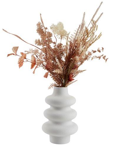 Váza ALVIS ÁTM20xMA30cm fehér