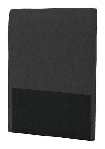 Sänggavel 105x125 H30 CURVE grå-40