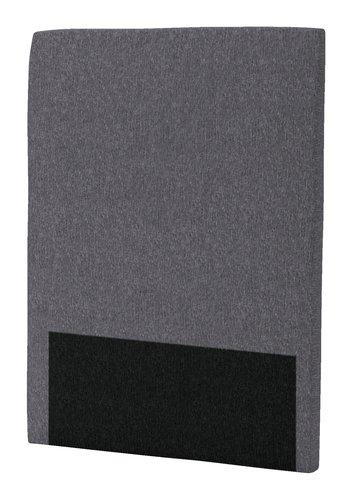 Sänggavel 90x125 H30 CURVE grå-26