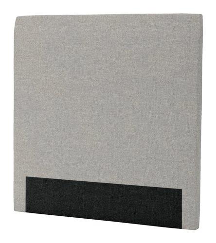 Sänggavel 120x125 H30 CURVE grå-29