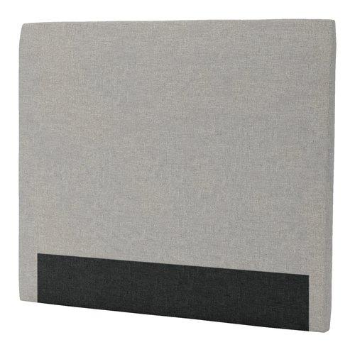 Sengegavl H30 CURVE 140x125 grå-29