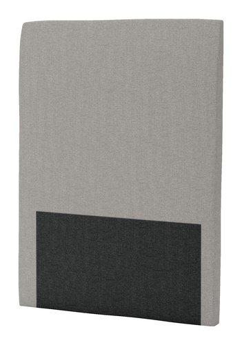 Hoofdbord 90x125 H30 rond grijs-21