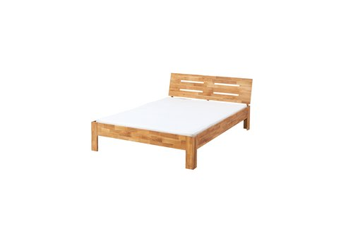 Estrutura de cama OLSKER 150x190 carv