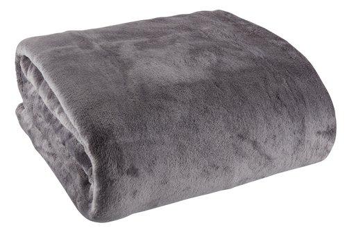 Plaid GULSKOLM 220x240 gris