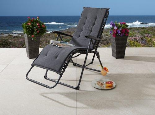 Крісло HALDEN для відпочинку чорний