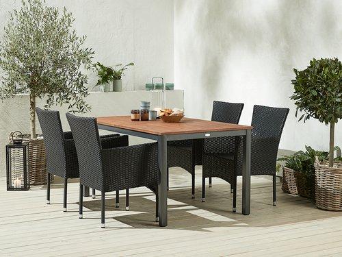 Asztal YTTRUP SZ90xH150 keményfa