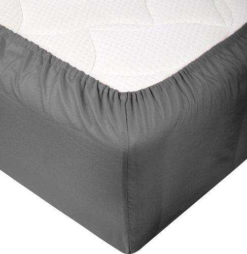 Sábana ajust Jersey 180x200x30cm gris