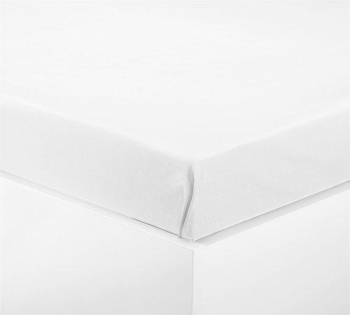 Leintuch 150x250cm weiß