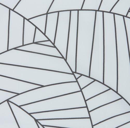 Sengesett PAULA percale EXL hvit/grå