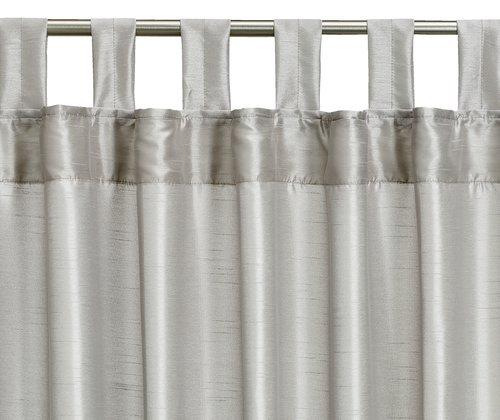 Tenda LUPIN 1x140x300 eff. seta argento