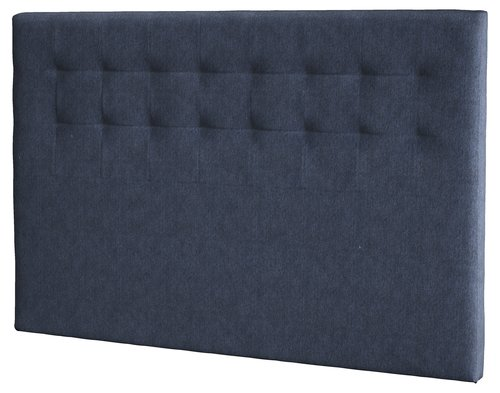 Sänggavel 160x125 H50 STITCHED blå-87