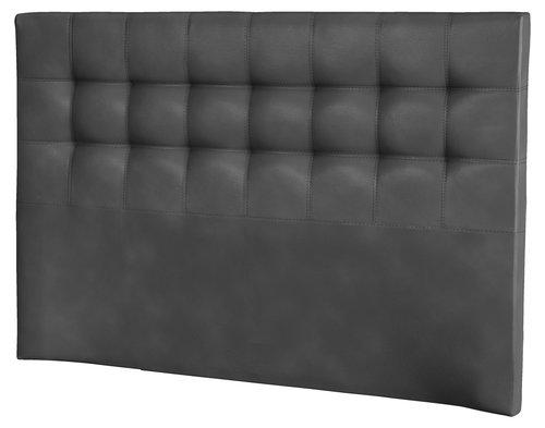 Hoofdbord 180x125 H50 gestikt zwart-01