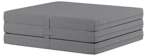Foldemadras 70x190 PLUS F10 grå