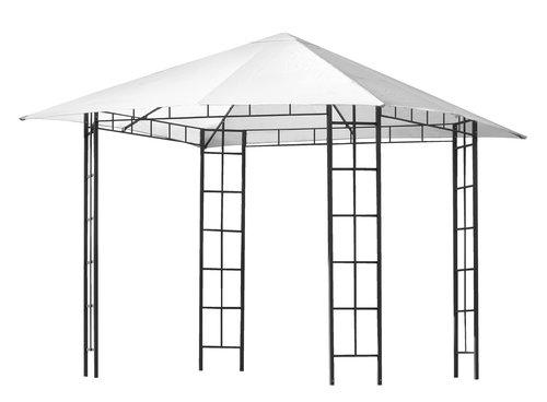 Οροφή γ/κιόσκι FAABORG Π300xΜ300 λευκό