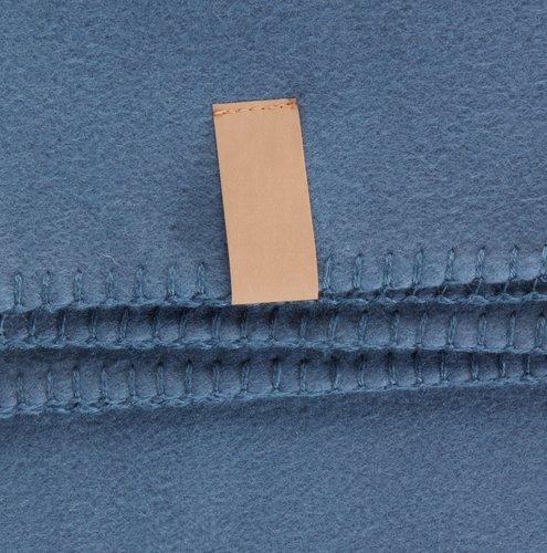 Plaid DAGLILJE molletonné 130x170 bleu
