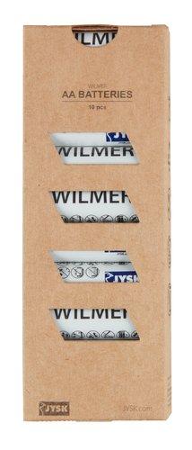 Pilhas WILMER AA 10uds/emb