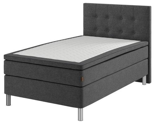 Sänggavel 120x122 H70 BUTTONS grå-40