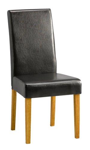 Krzesło TUREBY brązowa