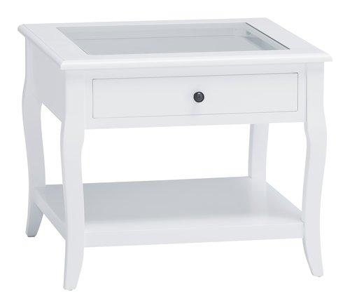 Mesa centro LONE 60x60 branco