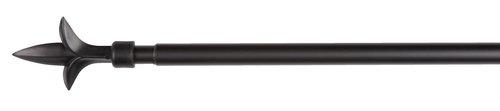 Gardinstang LILJA 90-160cm sort