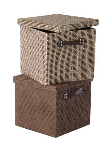 Krabica GODTFRED 32x32x30 veko rôzne
