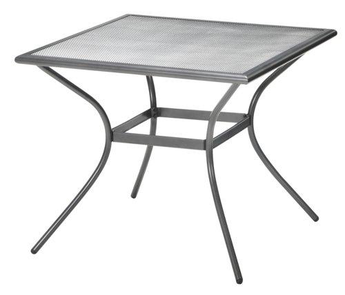 Table LARVIK 88x88 gris