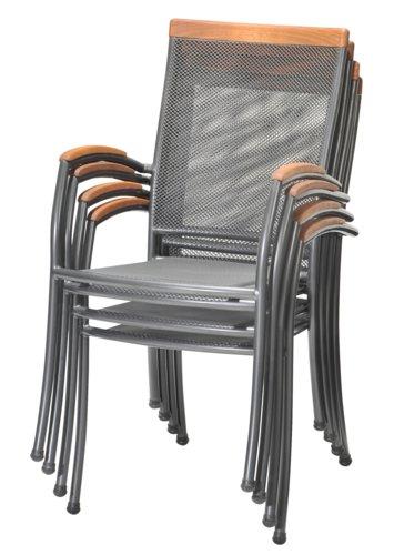 Miza LARVIK D150 + 4 stoli LARVIK