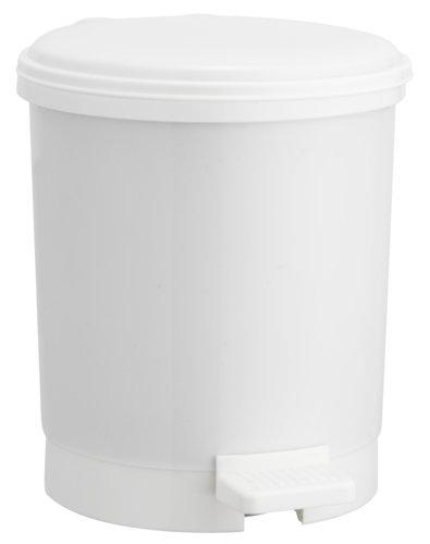 Pedal bin UTBY 3L plastic white