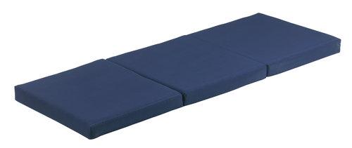 Skladací matrac 70x190 PLUS F10 modrá