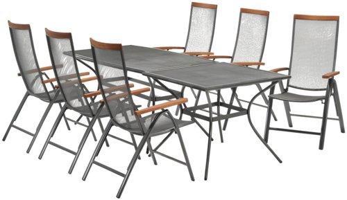 Stôl LARVIK Š90xD150 sivá
