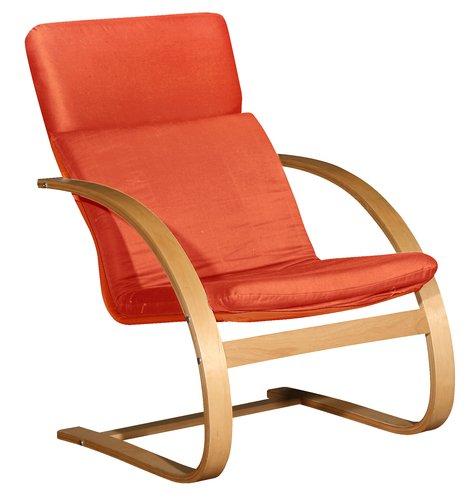 Fotelja TILST terakota/breza