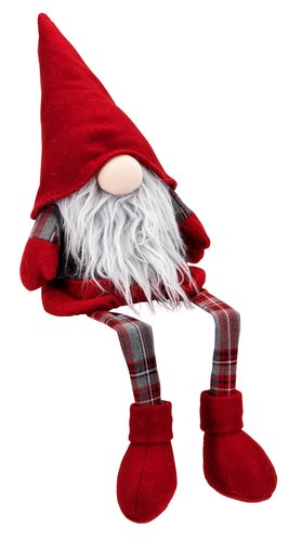 Mos Crăciun COZY 49cm asezat