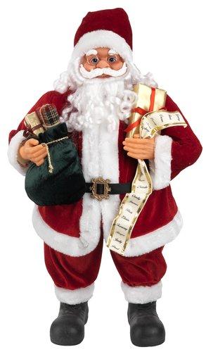 Djed Božićnjak DASHER V80 cm s darovima
